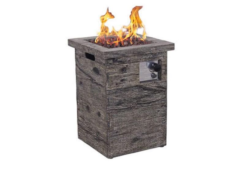 Column 50 outdoor gasfire