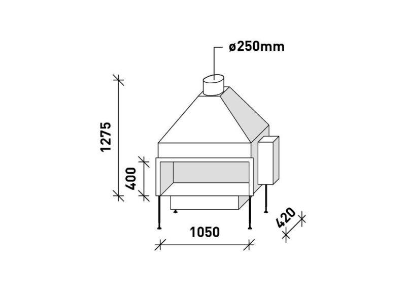 MF 1050-40 G 1S