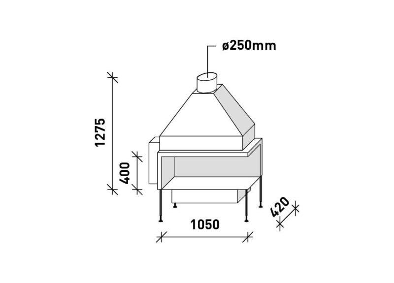 MF 1050-40 G 2S LR