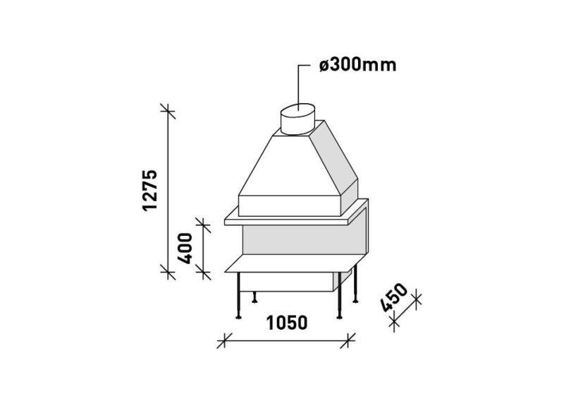 MF 1050-40 G 3S