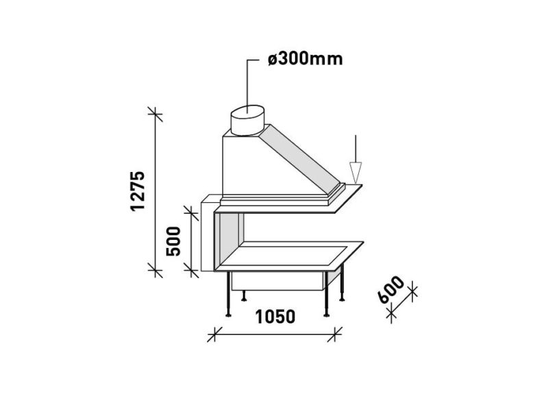 MF 1050-600-50 G 3S EXT