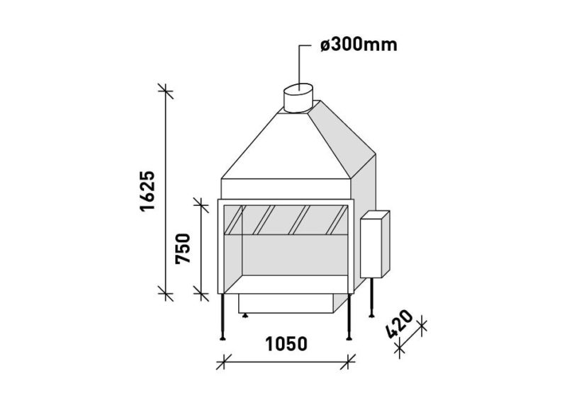 MF 1050-75 G 1S