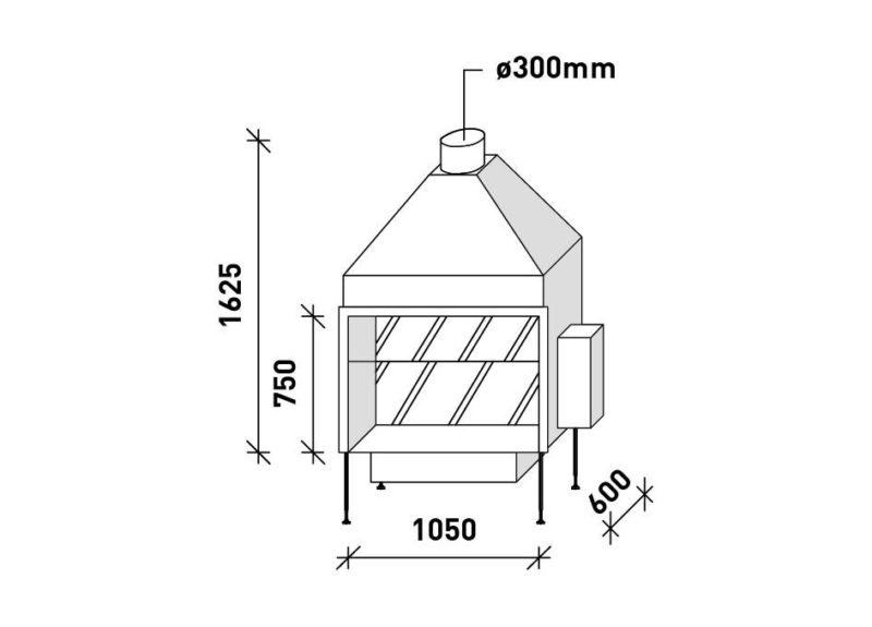 MF 1050-75 G T