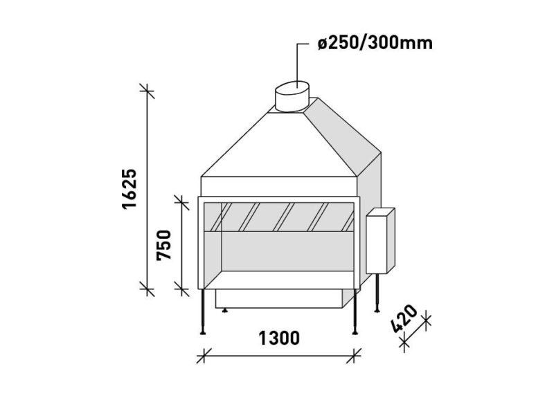 MF 1300-75 G T