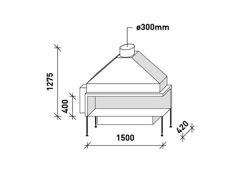 MF 1500-40 G 2S L/R