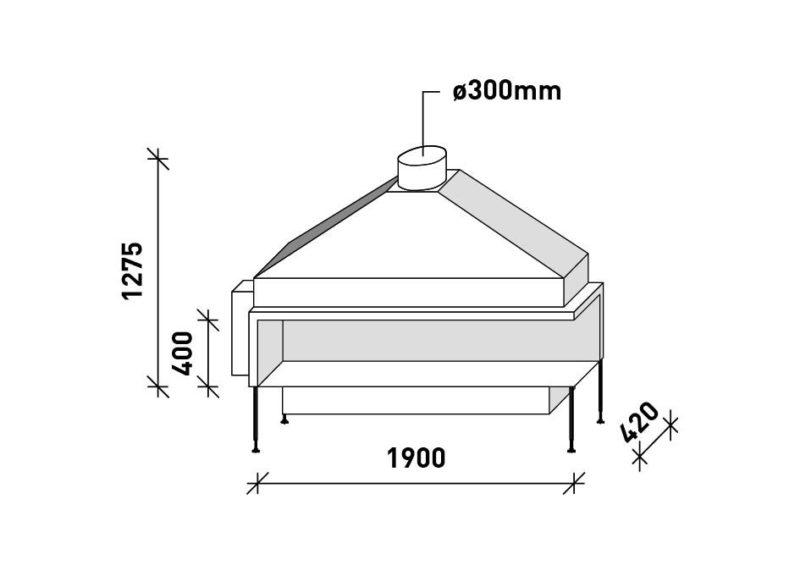 MF 1900-40 G 2S L/R