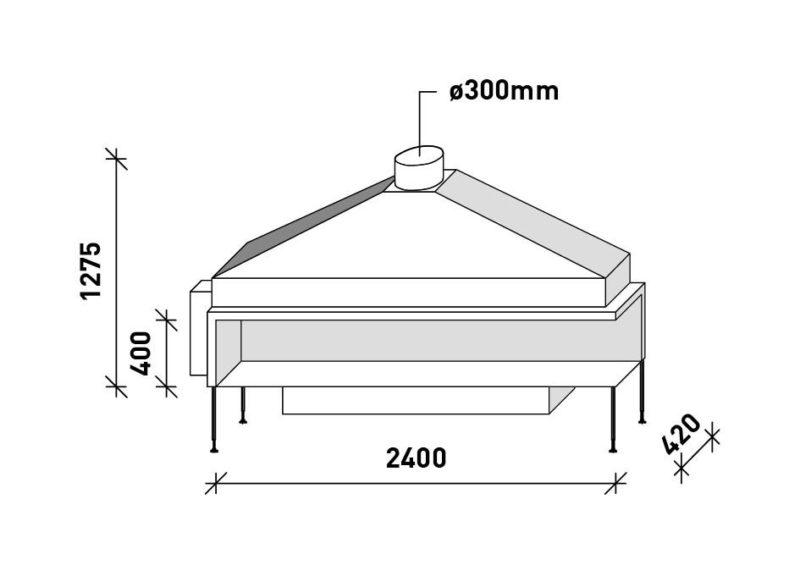 MF 2400-40 G 2S L/R