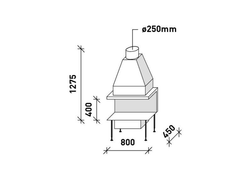 MF 800-40 G 3S