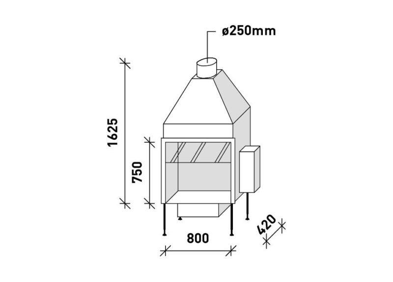MF 800-75 G 1S