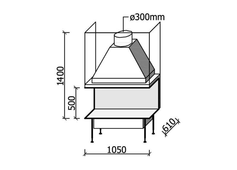 MF 1050-50 W 3S