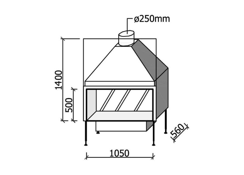MF 1050-50 W T