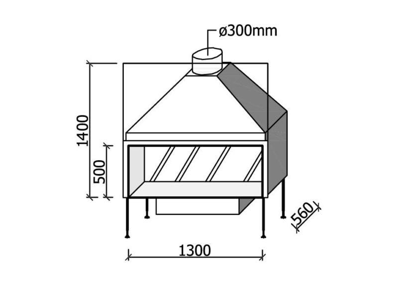 MF 1300-50 W T