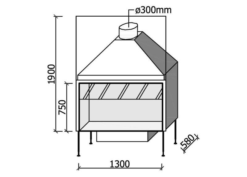 MF 1300-75 W 1S
