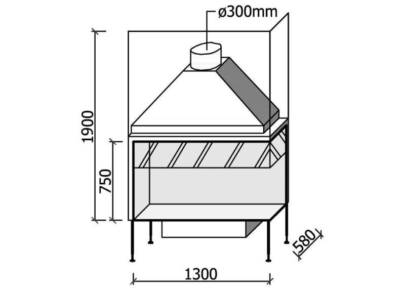 MF 1300-75 W 2S L/R