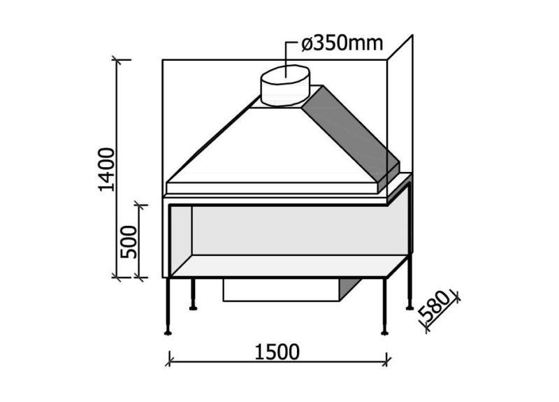 MF 1500-50 W 2S L/R
