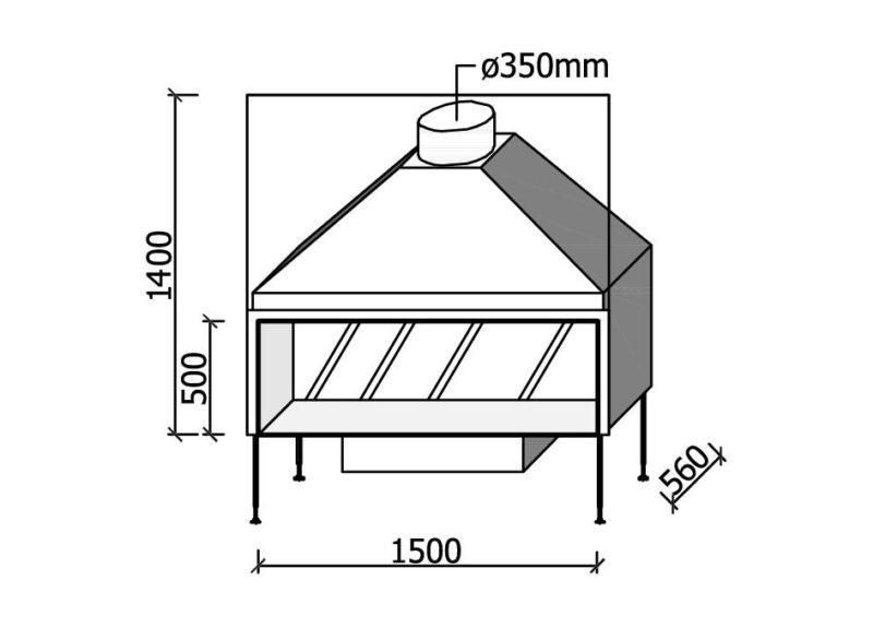 MF 1500-50 W T