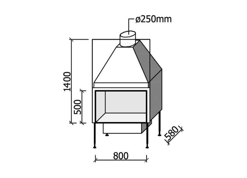 MF 800-50 W 1S
