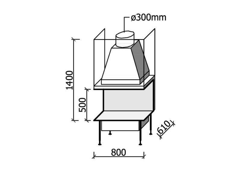 MF 800-50 W 3S