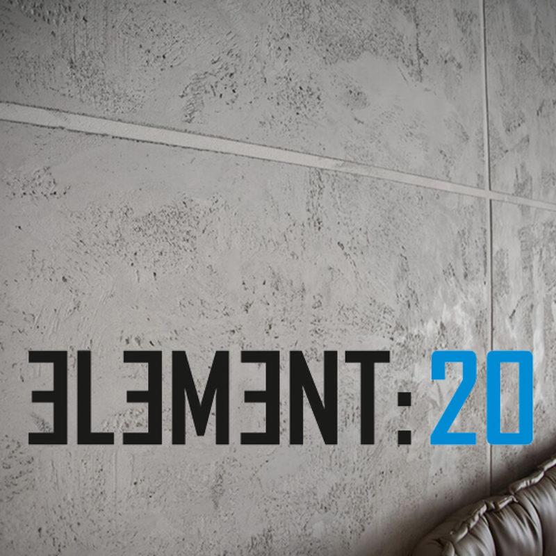 Element 20 διακοσμητικό επίχρισμα