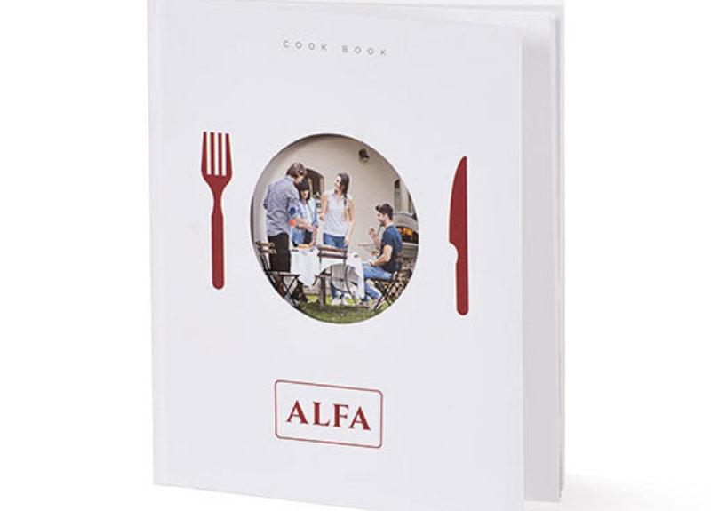 Βιβλίο μαγειρικής Alfa