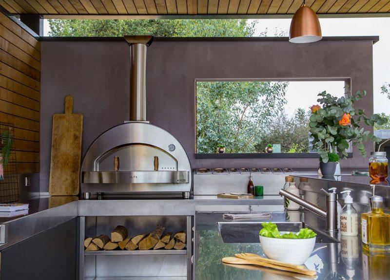 Domestic Wood Oven Alfa 4 Pizze