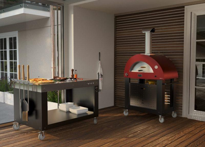 Domestic Hybrid Oven Wood and Gas Alfa Brio