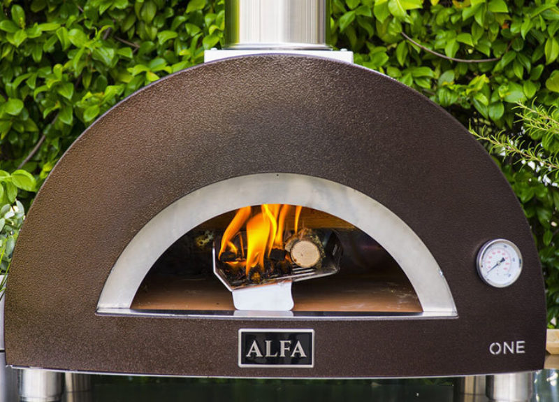 Domestic Gas and Wood Oven Alfa One