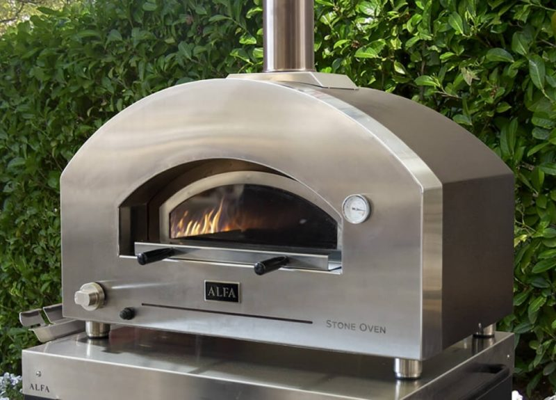 Domestic Hybrid Oven Wood and Gas Alfa Stone Oven