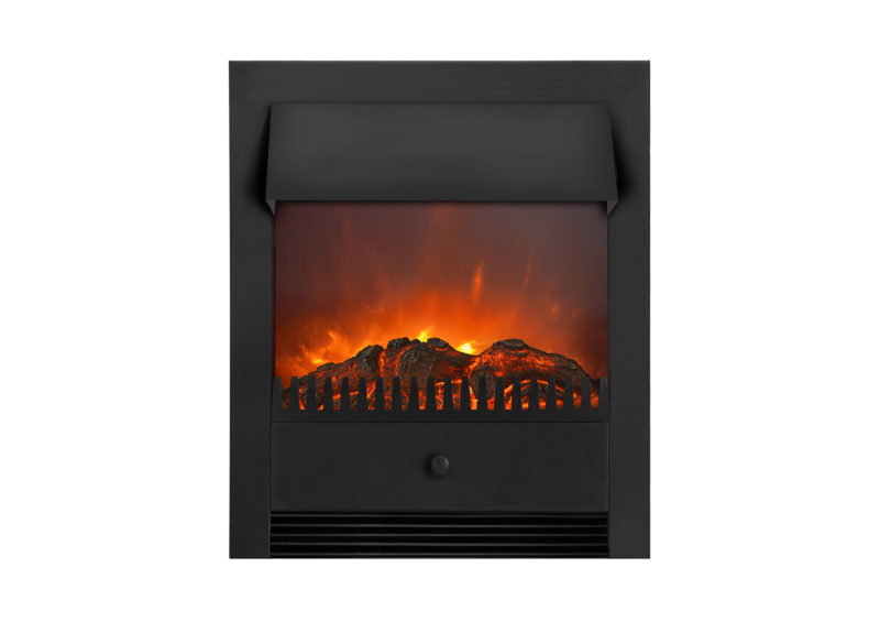 Lagos LED built-in fireplace