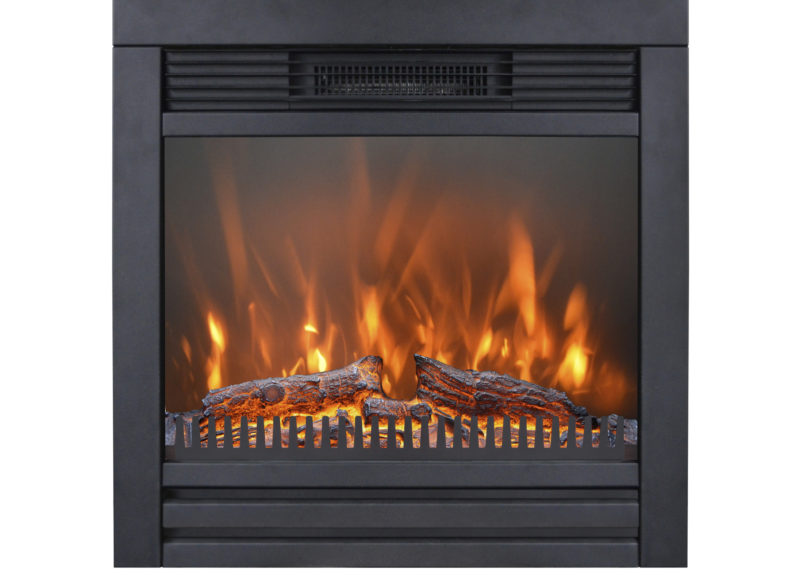 Lucius electric built-in fire