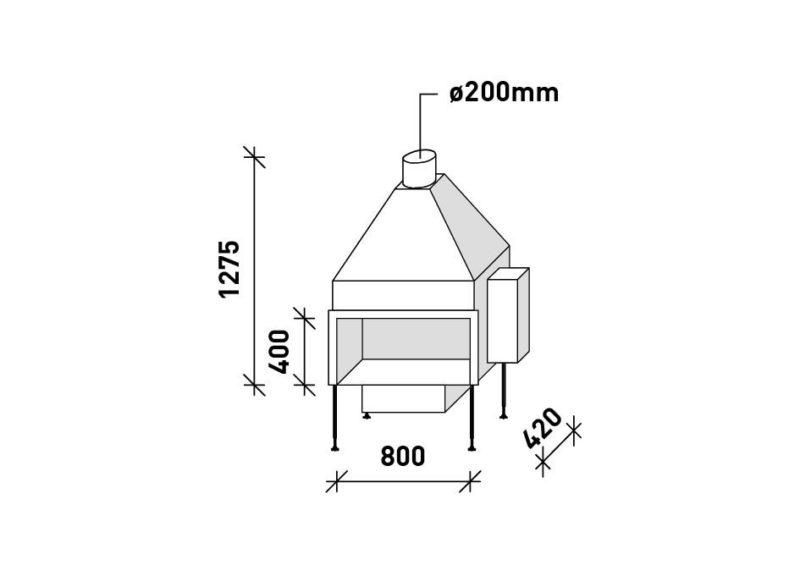 MF 800-40 G 1S